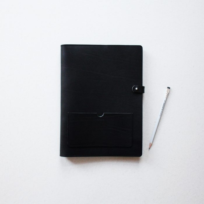 by gitte notepad cover A4 black